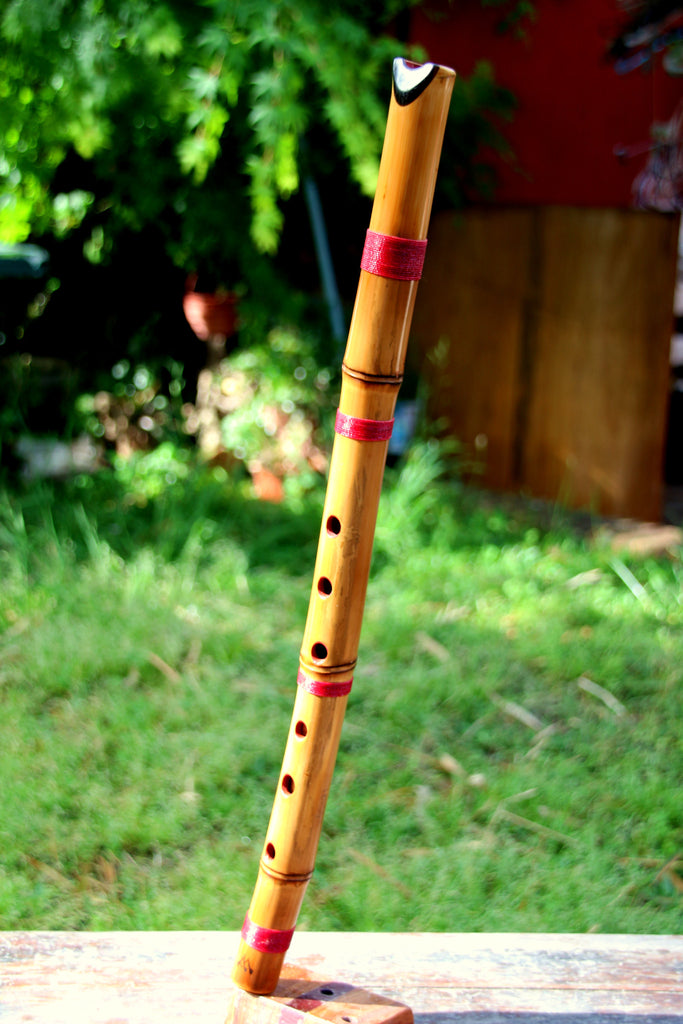 Shakuquenachos in Re D Shakuhachi and Quena Hybrid Bamboo Ebony