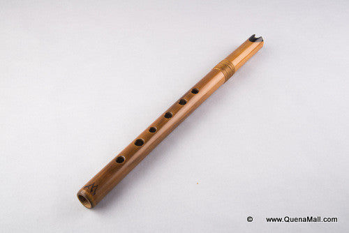 Custom Made Quena in any Key Bamboo & Ebony Professional Grade