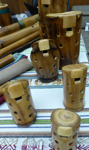 Bamboo Ocarinas - Medium and Large