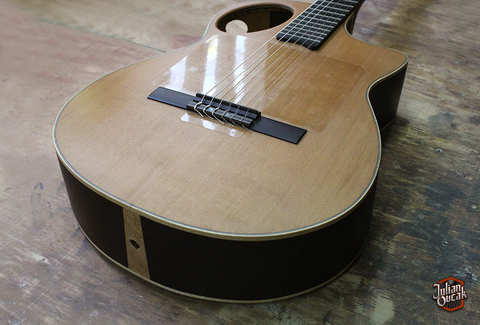 Classical Guitar High End with Red Cedar, Wenge, Ebony by OVCAK