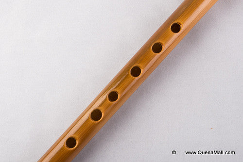 Quena Profesional Bambú y palisandro G - Bamboo with Indian rosewood G