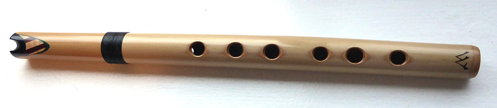 Quena in F - Bamboo, Ebony, Maple - en FA re bambu y maderas ebano