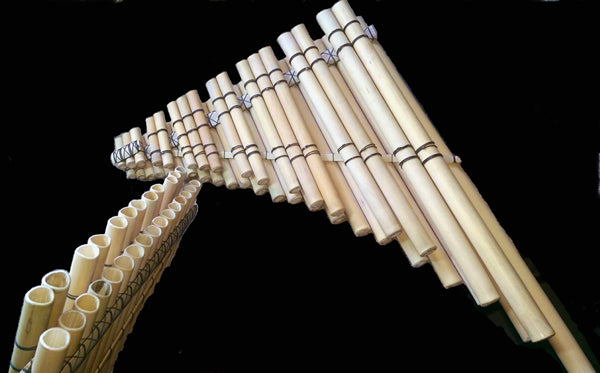 Panpipe Zampona Chromatic Piano Layout 2 Octaves 30~ Beleveled Tubes