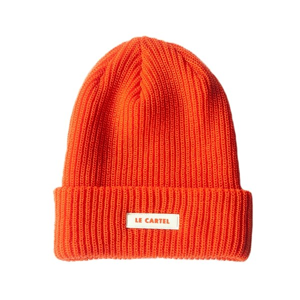 Chunky Beanie par LE CARTEL・Tuque Neon Orange - Le Cartel