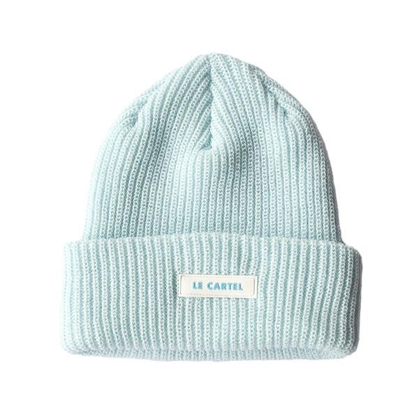 Chunky Beanie par LE CARTEL・Tuque Spa Blue - Le Cartel