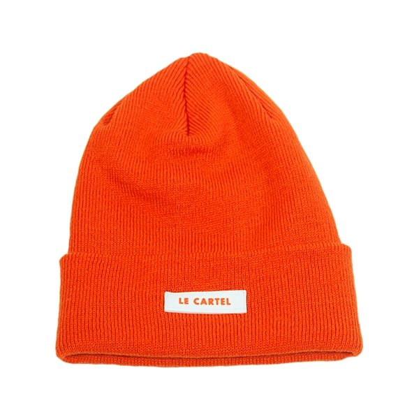 Classic Beanie par LE CARTEL・Tuque Neon Orange - Le Cartel