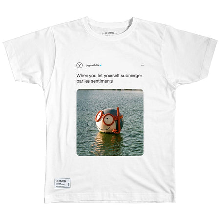 LET YOURSELF SUBMERGER・Le T-shirt - Le Cartel