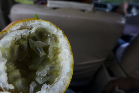 This organically grown passionfruit is to die for!. Sweet!