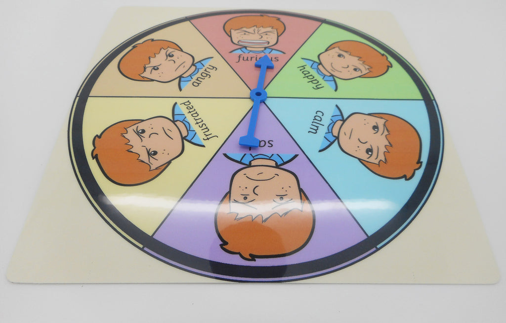Feelings & Emotions Point & Select Choice Board Chart - George (Autism / AAC / ASD) Visual Aid Resource