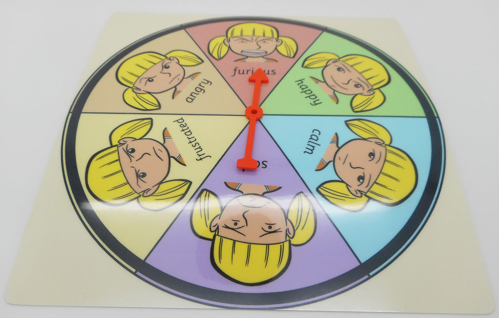 Feelings & Emotions Point & Select Choice Board Chart - Lucy (Autism / AAC / ASD) Visual Aid Resource