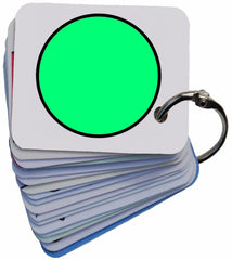 Behaviour Traffic Lights Symbol Card Keyring SEN Visual Aid Resource (Autism / AAC / ASD)