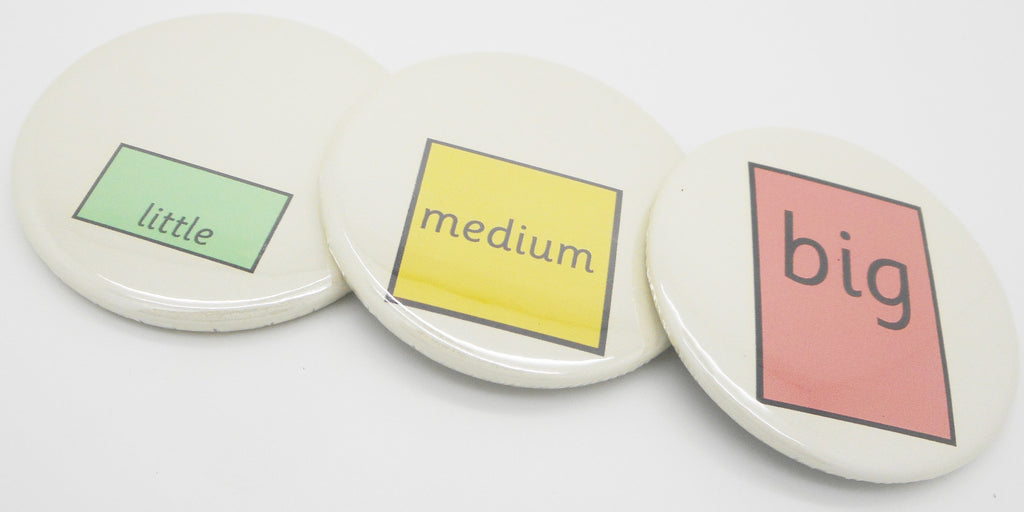 Little, Medium, Big Scale Measurement Magnets - Interactive Visual Aid Resource (SEN)