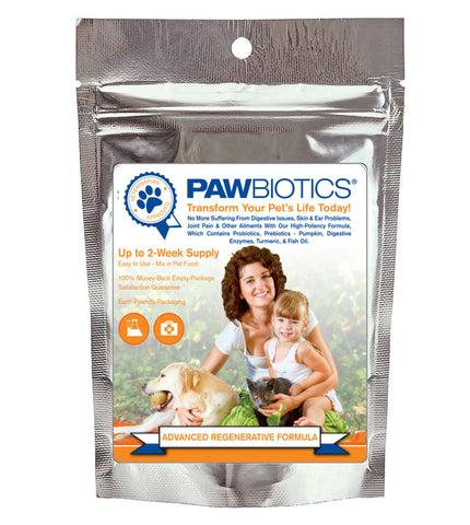 Trial Sample of PawBiotics™ Advanced Regenerative Formula
