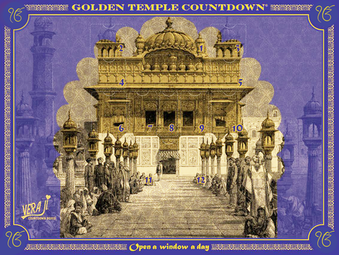 Golden Temple Countdown Box