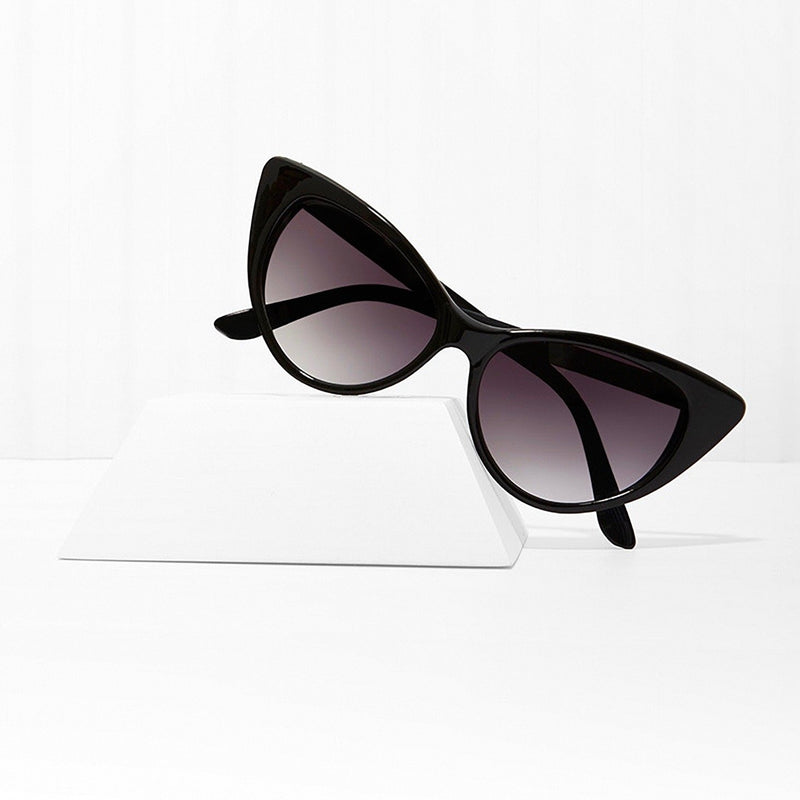 Mood Swing Black Cat Eye Sunglasses
