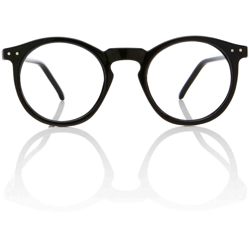 OMalley RX Black Keyhole Glasses