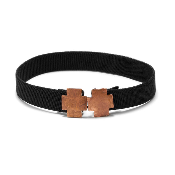 American Deadstock Double Cross Choker - Copper