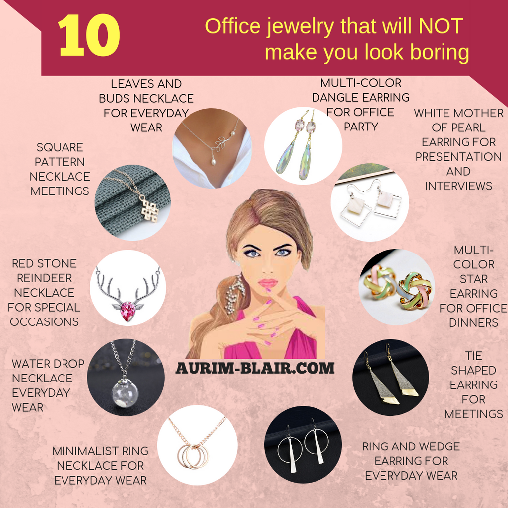 Woman's Jewelry for Office