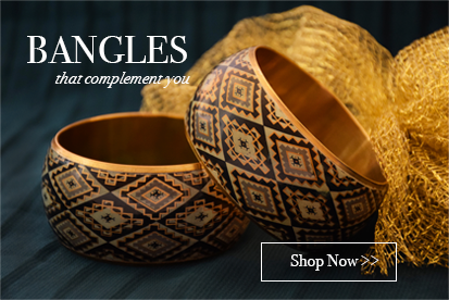 Online handcrafted bangles and bracelets for women