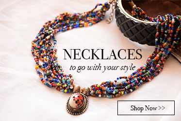 Online handcrafted necklaces for women
