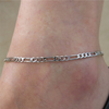 Silver Chain Anklet