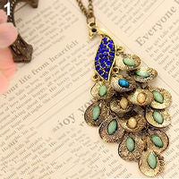 Multi-color lightweight Peacock Pendant