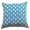 Dhaani Blue Bling Cushion Cover (Set of 2)
