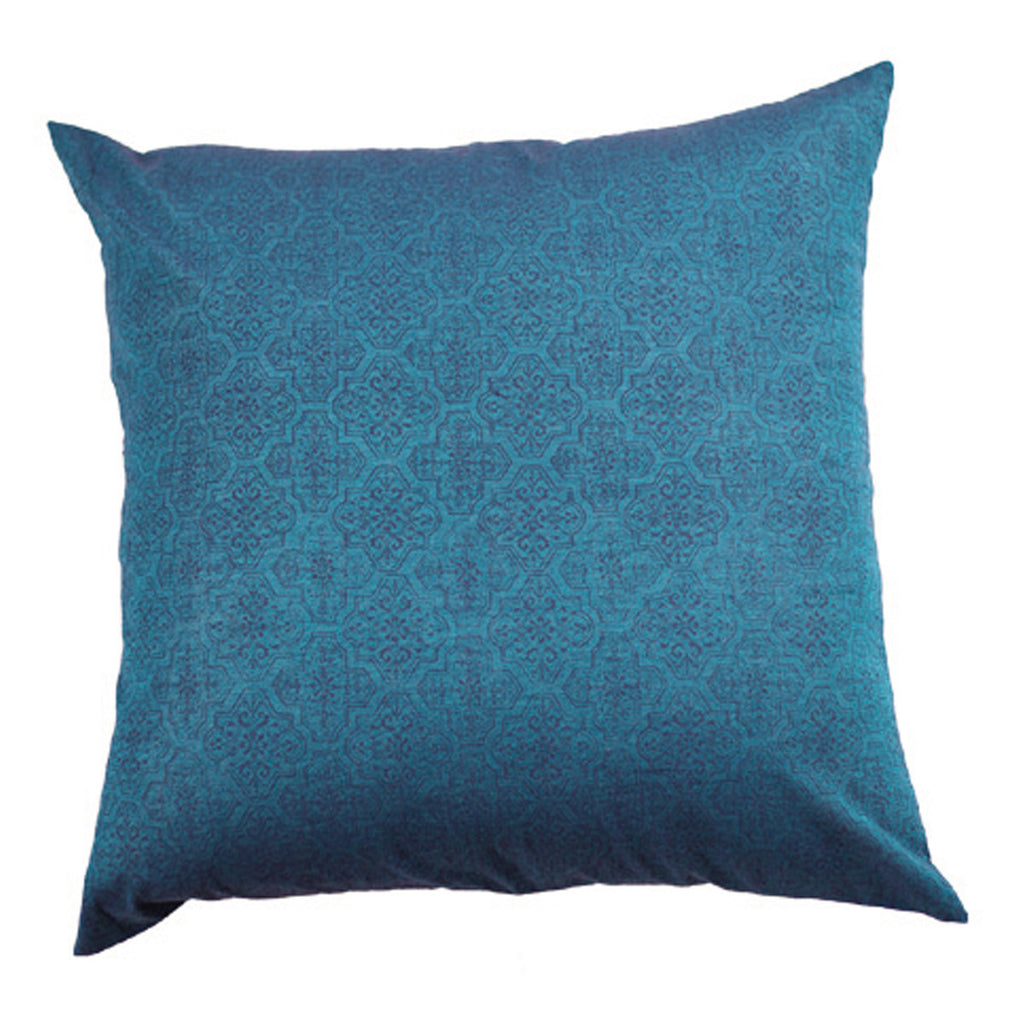 Dhanni Cool Blue Cushion Cover (Set of 2)