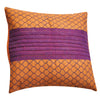 Dhaani Mauve Pattern Cushion Cover (Set of 2)