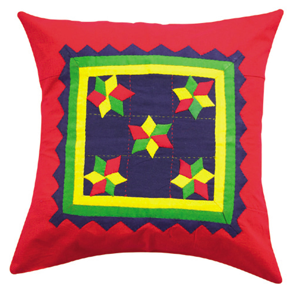 Dhaani Cut Piece Cushion Cover (Set of 2)