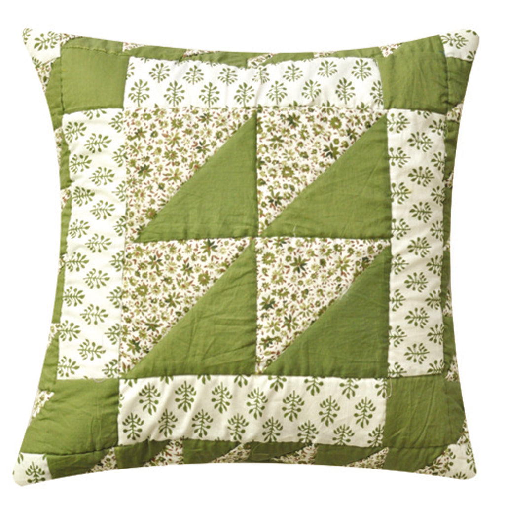 Dhaani Green Getter Cushion Cover (Set of 2)