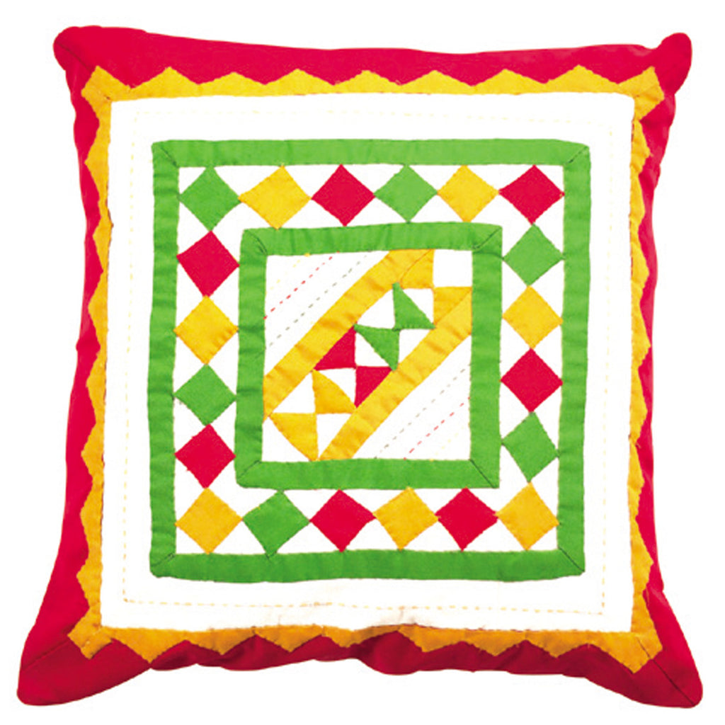 Dhaani Checkered Cushion Cover (Set of 2)