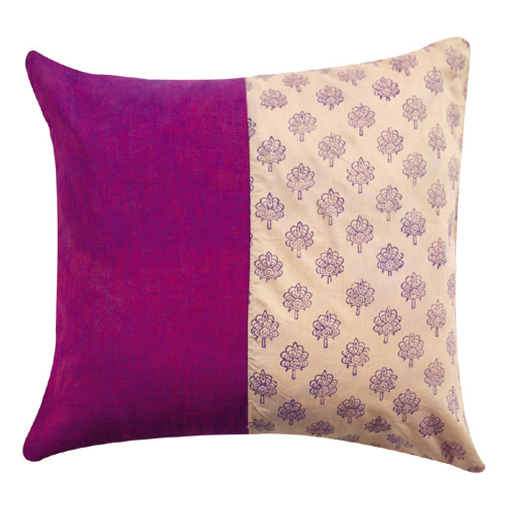 Dhaani Magento Floral Cushion Cover (Set of 2)