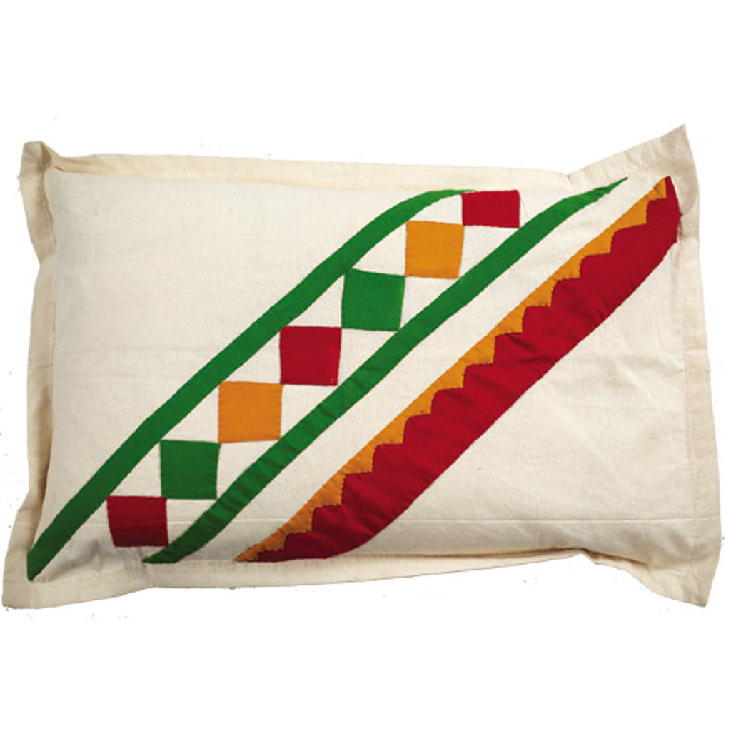 Dhaani Cut Piece Eplick Pillow Cover (Set of 2)