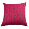 Dhaani Purple Floral Cushion Cover (Set of 2)