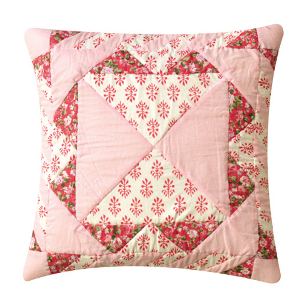 Dhaani Soft Pink Cushion Cover (Set of 2)
