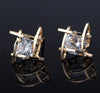 Golden Trinkets  Zircon Earrings  Stud Earrings