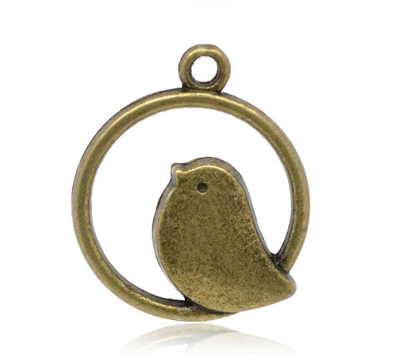 Brass Bird Dangler