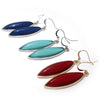 Elipse Crystal Drop Earrings