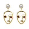 Human Face Earrings