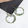Vintage Fashion Hollow Round Earrings