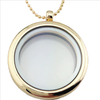 Golden Glass Locket