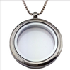 Silver Glass Locket