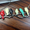 Miniature Birds Necklace