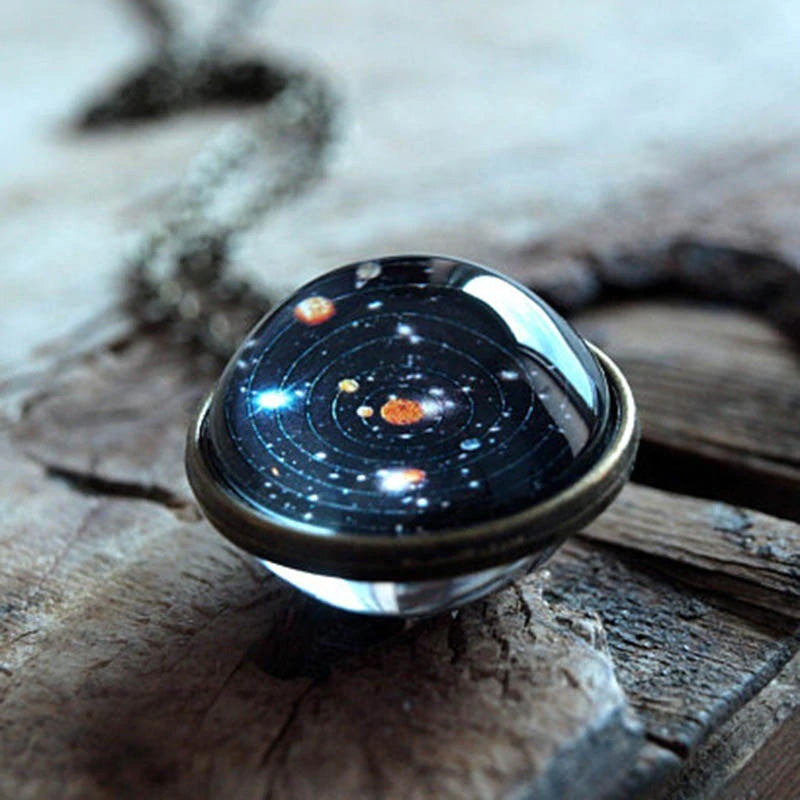 GALAXY IN GLASS PENDANT