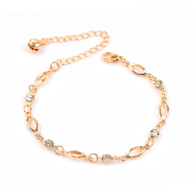 Golden Anklet with Bell