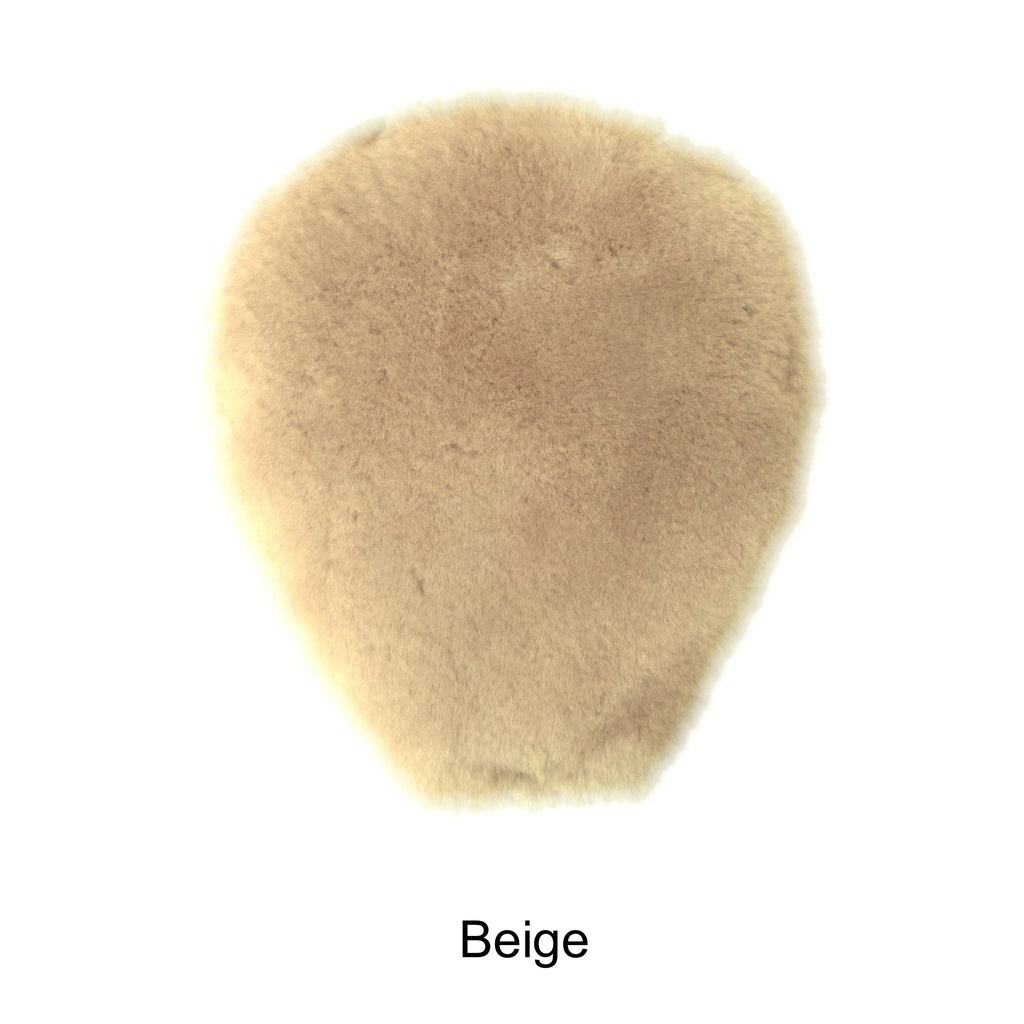 Sheepskin Horse Saddle Cover. Made in Canada by Egli`s Sheep Farm