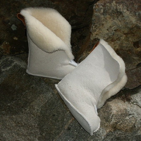 Sheepskin Boot Liners. Made in Canada by Egli's Sheep Farm