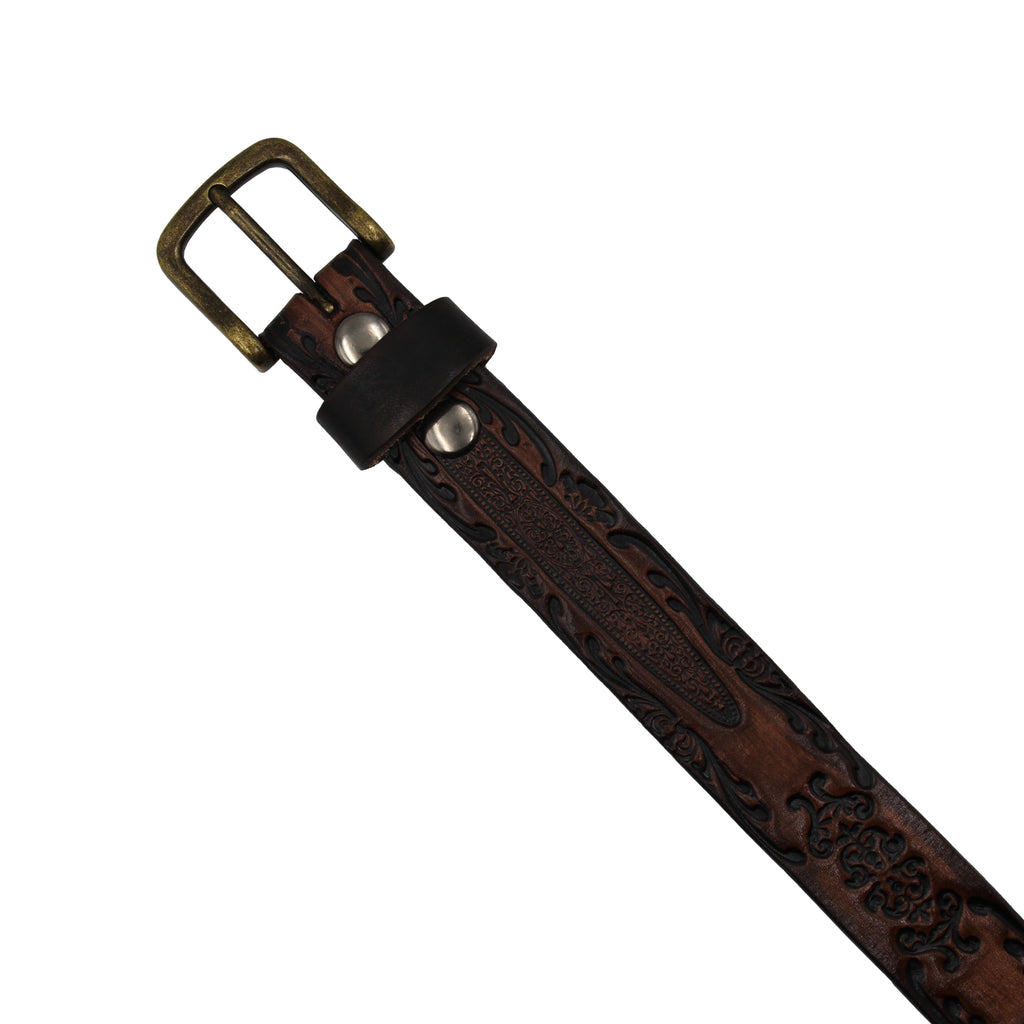Leather Belt - Antique Victorian