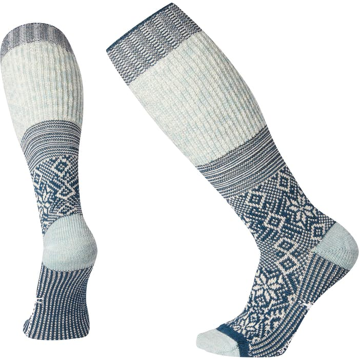 Wms Snowflake Flurry Sock